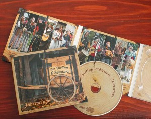 "Unsere CD ""Jahresringe"" im Digipac"